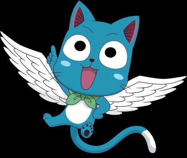 Fairy tail one shots x reader happy x exceed reader i want you to