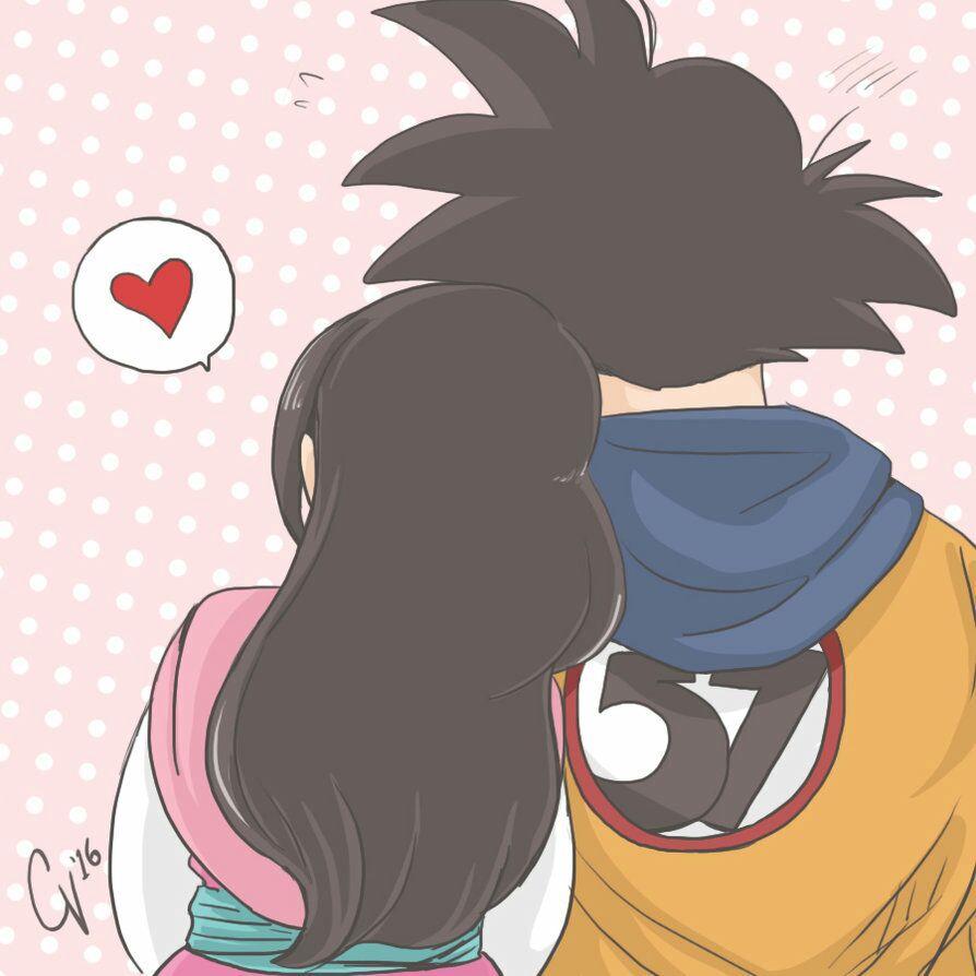 Imágenes Kawaii De DBZ - Goku y Milk.♥ - Wattpad