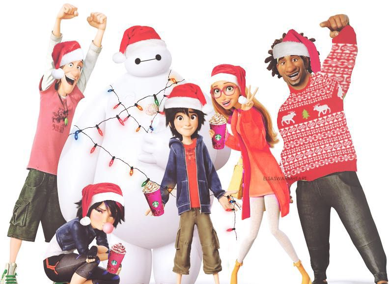 Big hero 6 x reader one shots christmas time with hiro and tadashi
