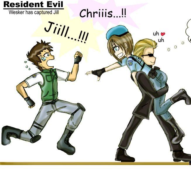 Resident Evil directors cut, Jill and Wesker fan fiction ...