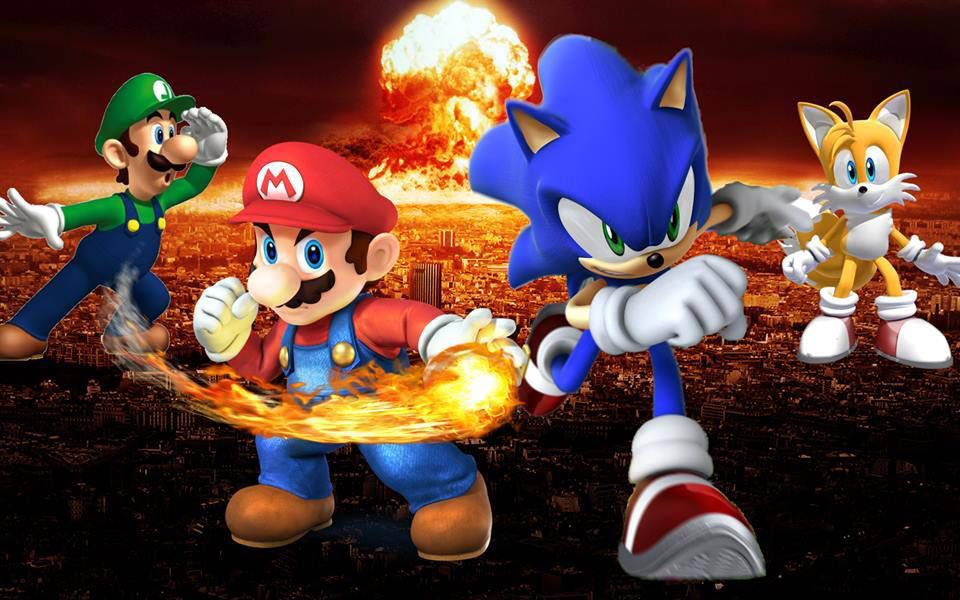 Luigi And Sonic Rap Battle Arena: Seas...