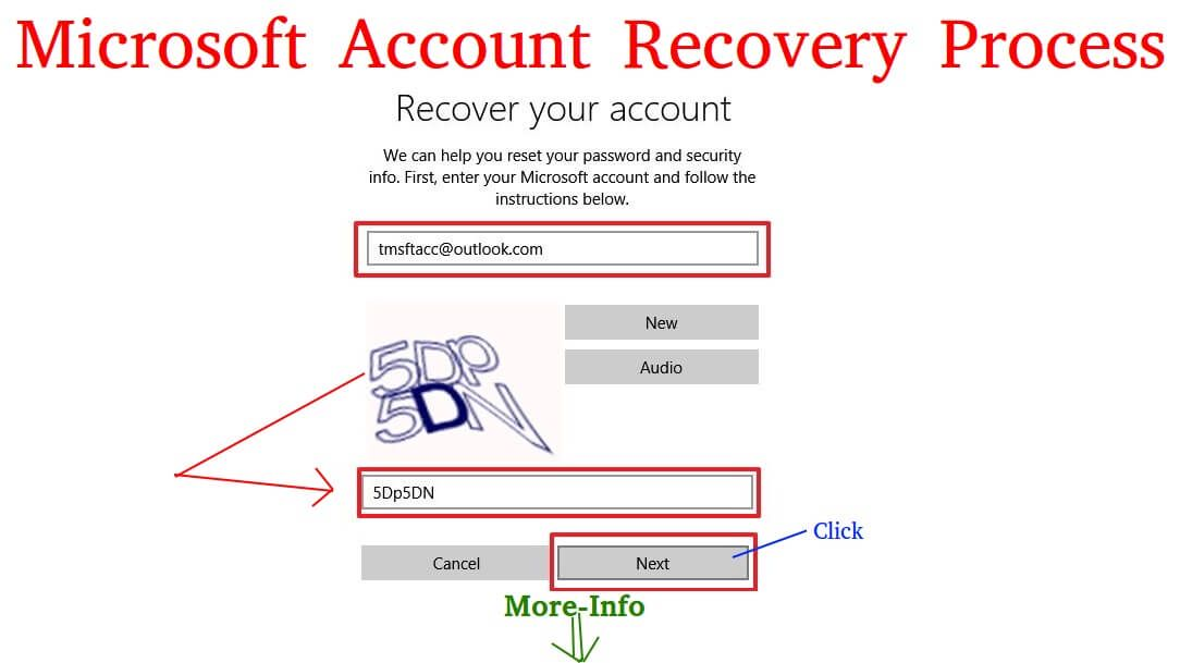 Microsoft Account Recovery - How To Recover Microsoft Account