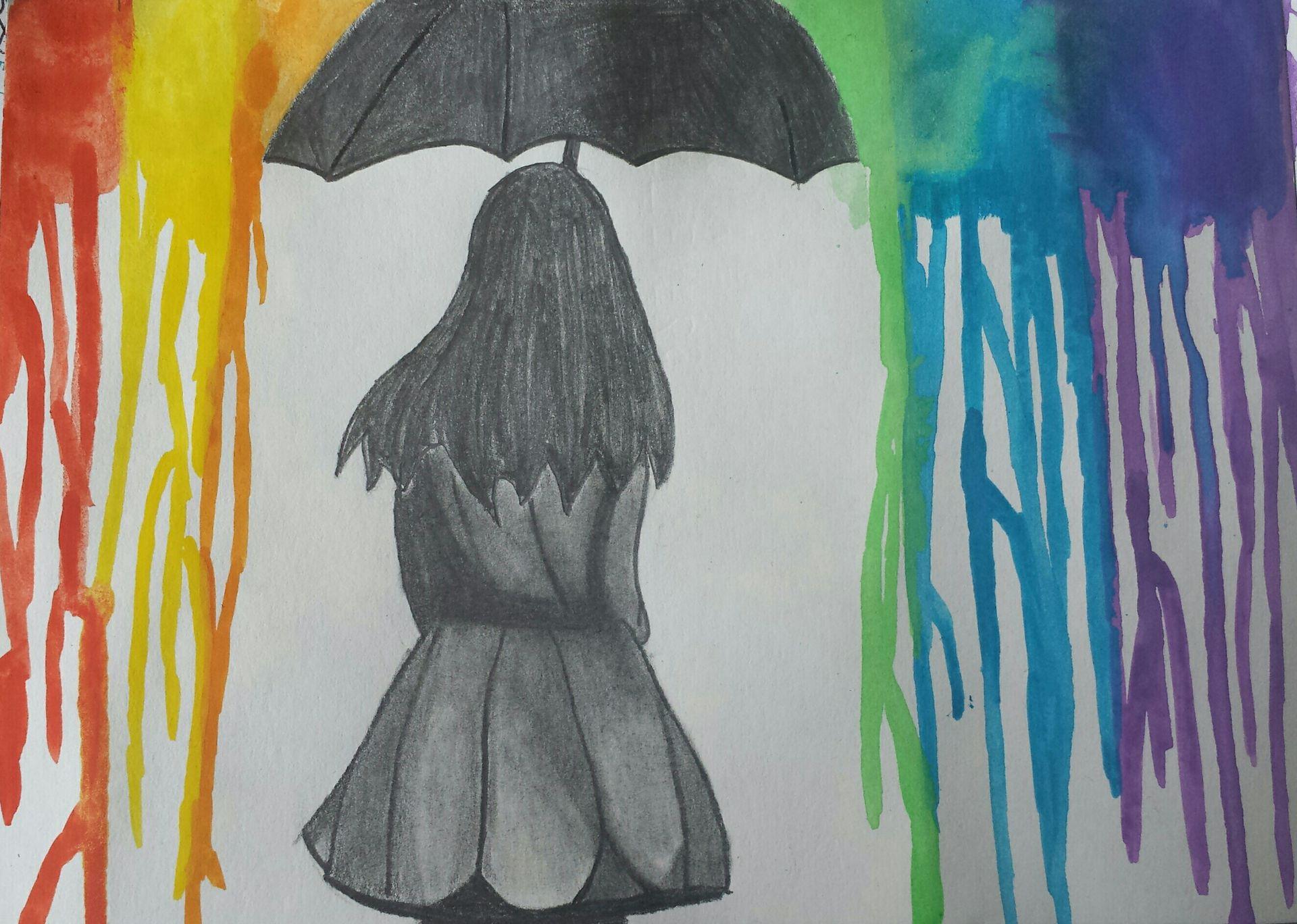 Zeichnungen Madchen Im Regen Wattpad