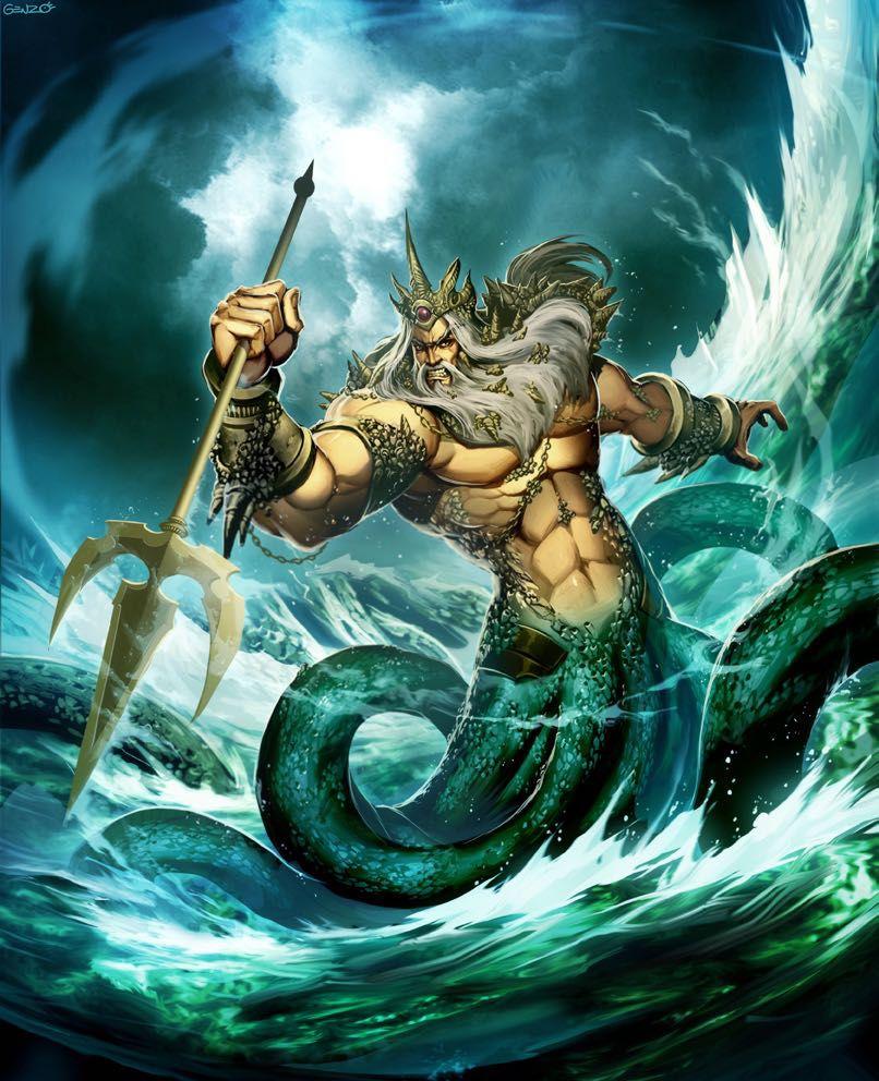 greek mythology poseidon wattpad