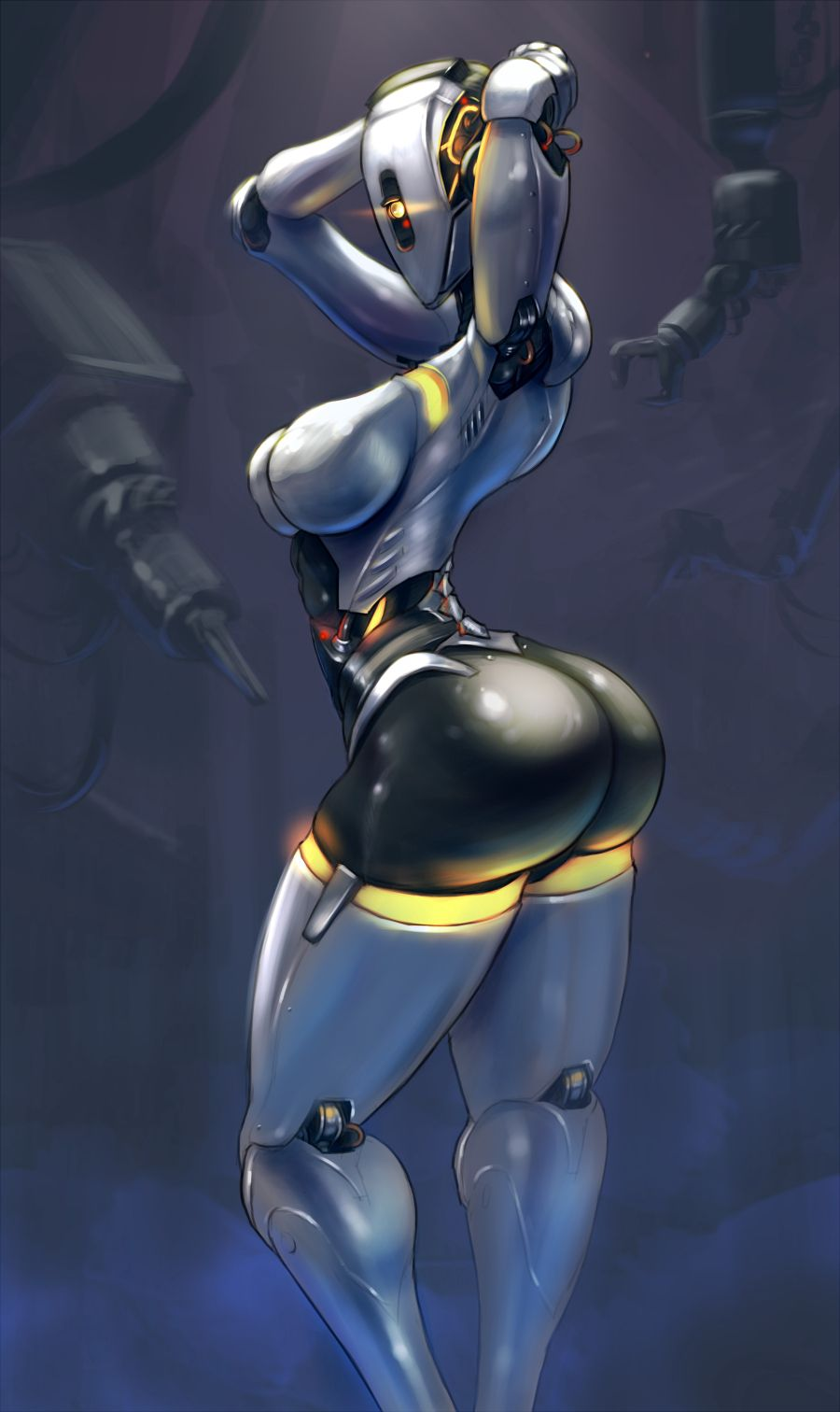 Female robot porn