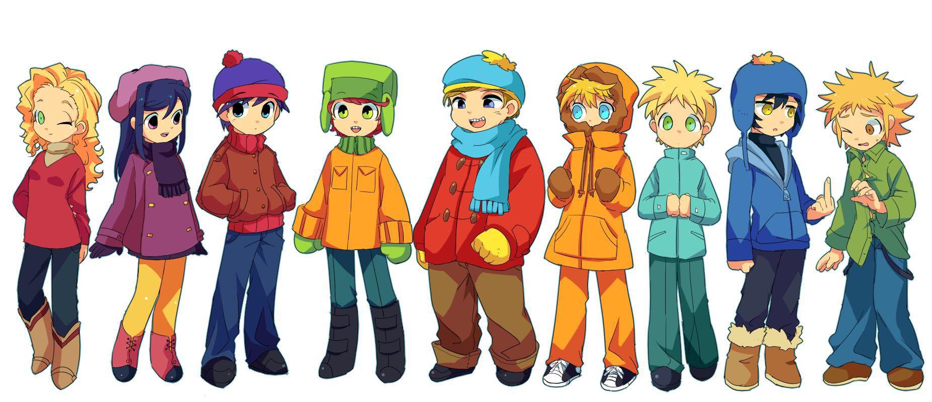 South Park x Reader - Craig Tucker x Reader ... I love you ...