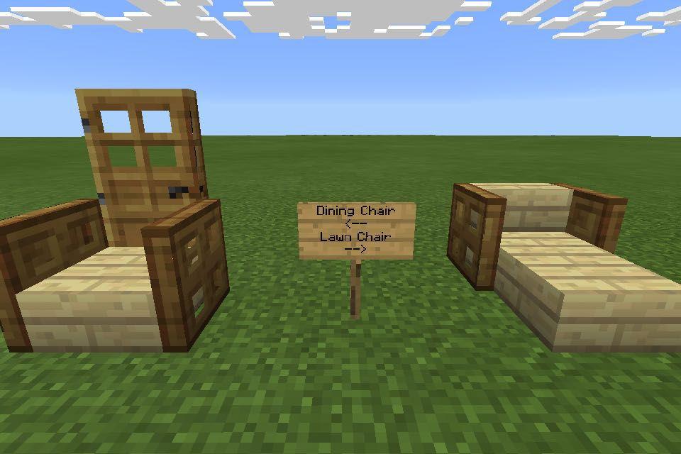 Minecraft Furniture Ideas - Chairs - Wattpad