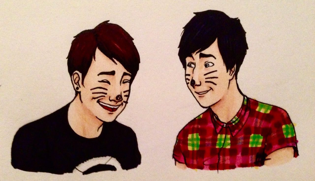 dan howell and phil lester imagines phil brothers best
