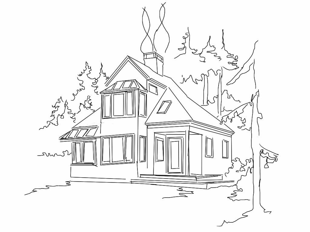 My dream house drawing home mansion for My dream house drawing