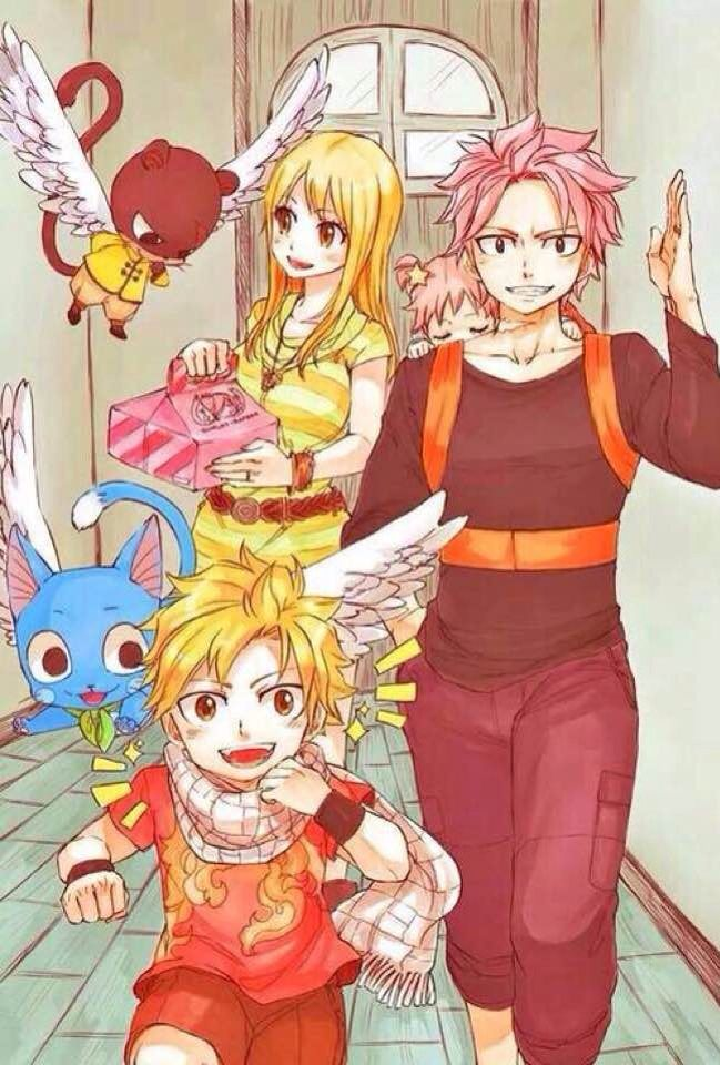 Fairy tail kids { on hold} - Chapter 2- dragneel - Wattpad
