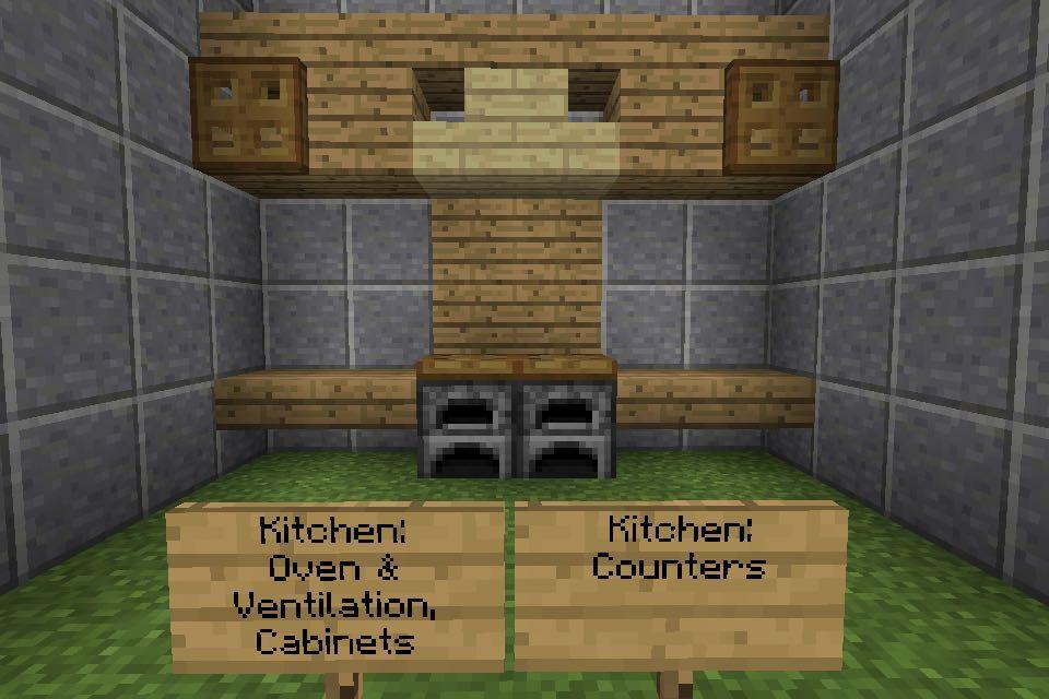 Minecraft Furniture Ideas Kitchen Part 1 Wattpad