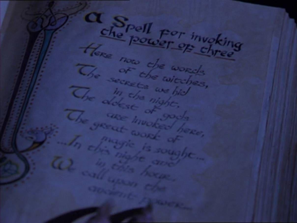A witch's handbook - Invocation Spells - Wattpad