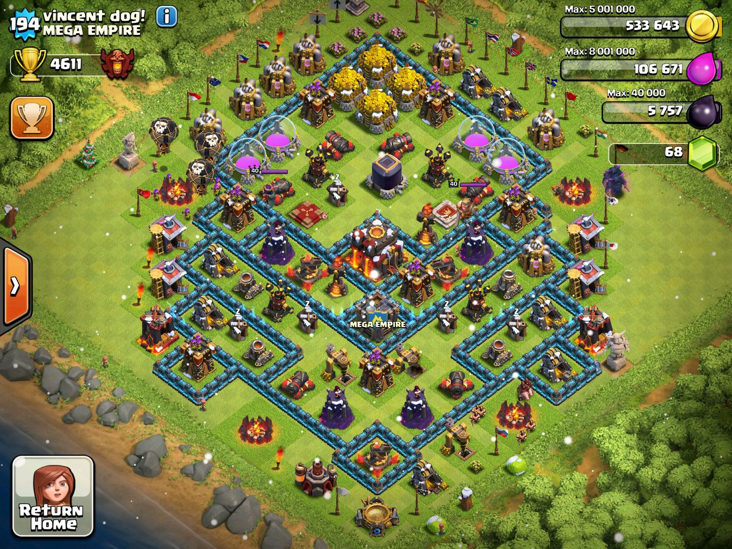 Clash of Clans - Chapter 3 Decorations - Page 1 - Wattpad