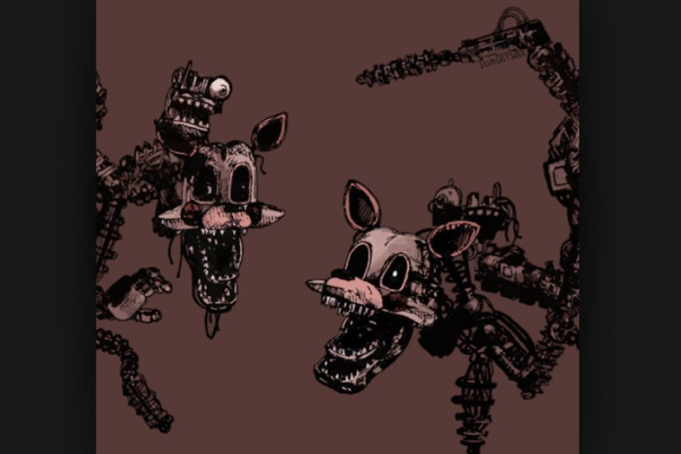 Read five nights at freddy s facts and top 10 20s 3 mangle wattpad
