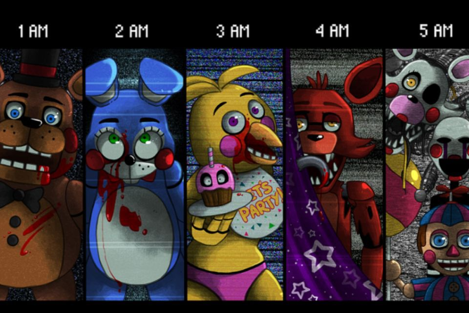 Five nights at freddy s facts and top 10 20s mobile fnaf wattpad