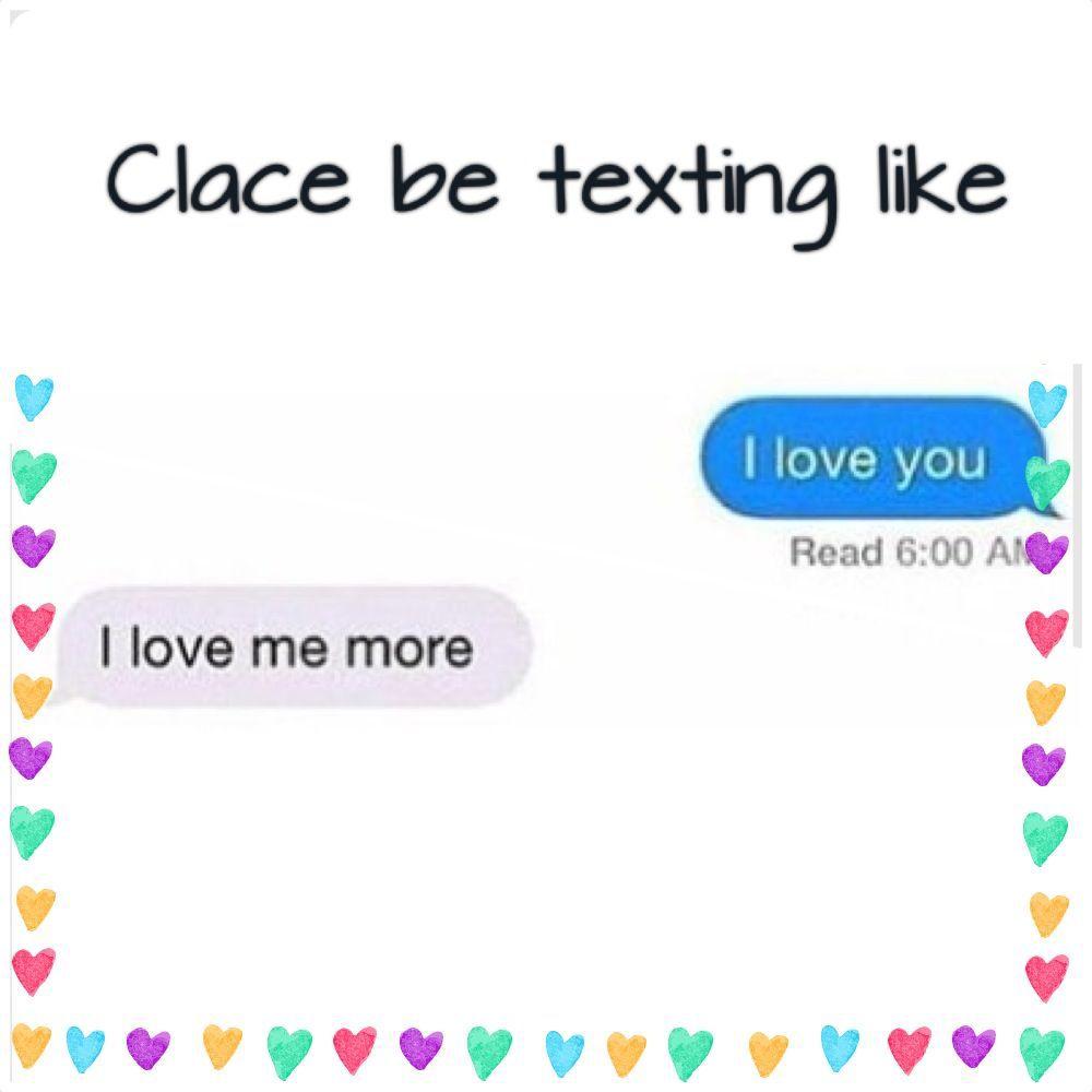 fandom jokes clace texting wattpad
