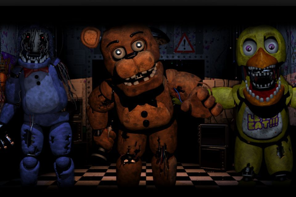 FIVE NIGHTS AT FREDDY'S FACTS AND TOP 10/20s - 7 withered